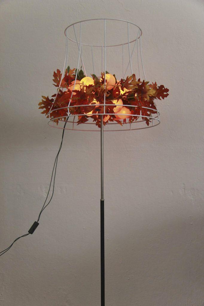 """Objekt """"Kunstlicht"""" aus der Arbeit """"Nach der Natur"""" 2014"""